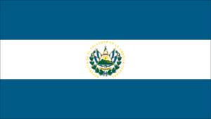 Flag of El Salvador.